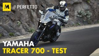 Yamaha Tracer 700 2020 TEST: sguardo da cattiva [English sub.]