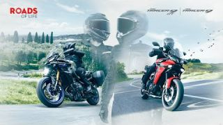 2021 Yamaha TRACER 9 and TRACER 9 GT – ROADS OF LIFE